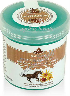 HORSE CHESTNUT ARNICA ALPINES HERBS Back Feet Miscle Pains Veins COOLING EFFECT