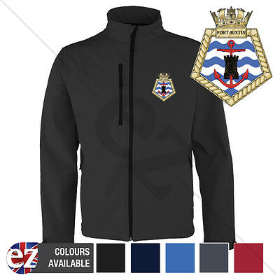 Fort Austin - Royal Navy - Softshell Jacket - Personalised text available