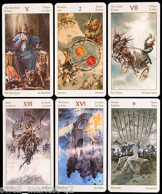 Vikings Tarot 78 Fortune Telling New Sealed Cards Deck Free Tracking