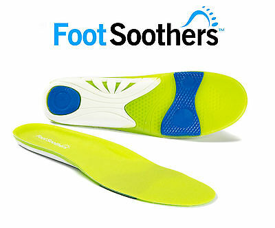 FootSoothers® Orthotic Green Scorpion Sports Gel Insoles