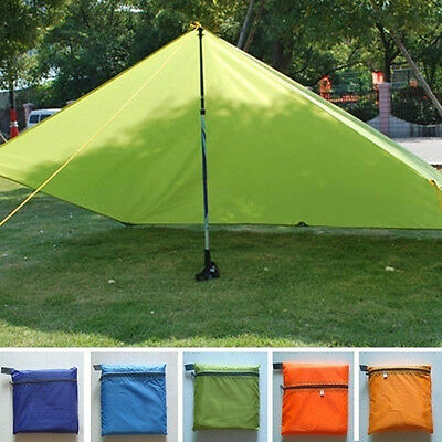 Portable Outdoor Camping Beach Hiking Cushion Canopy Tent Shelter Useful