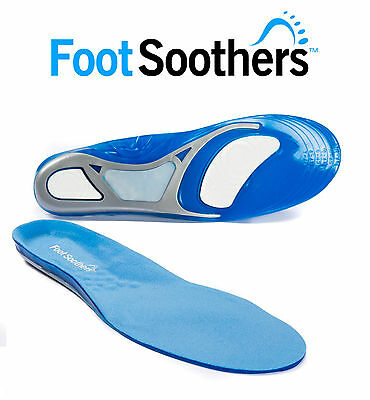 FootSoothers® Gel Shoe Inserts Insoles Pads Deluxe Falcon Sport Orthotic Comfort