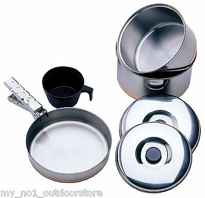 Vango Stainless Steel Cook Set - 1 Person