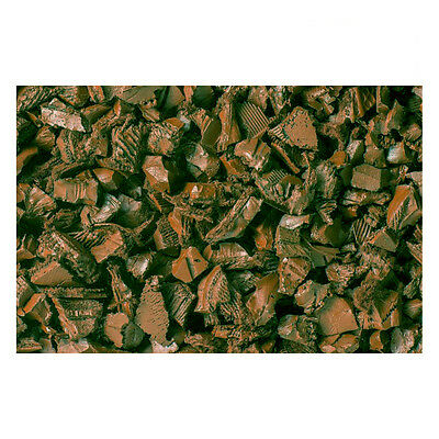 Brown Rubber Chippings (10Kg). Crumb Rubber Chippings
