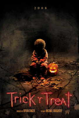 "TRICK 'R TREAT Movie Poster [Licensed-NEW-USA] 27x40"" Theater Size SAM"