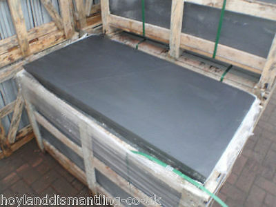 Natural Blue/Black slate hearth with sawn edges VARIOUS SIZES, COLLECTION ONLY
