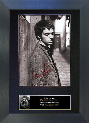 PAOLO NUTINI Signed Mounted Autograph Photo Prints A4 167