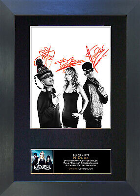 N DUBZ Signed Mounted Autograph Photo Prints A4 121