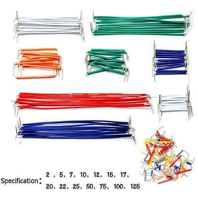 140pcs U Shape Solderless Breadboard Jumper Cable Wire Kit for Arduino 22AWG