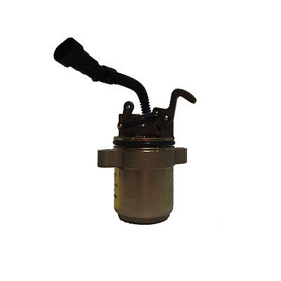 Fuel Shut-off Solenoid with Wire for 863 873 883 864 Bobcat Skid Steer 6686715