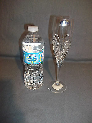 Marquis Waterford Crystal Flute Glass NEW Made in Italy