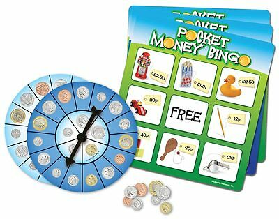 Learning Resources Pocket Money Bingo for Children - NEW