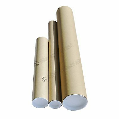 Many Sizes Postal Tube Packing End Caps Cardboard Malling Tubes
