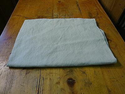 Antique European Linen, Hemp,Flax Homespun Linen Sheet 46'' x 68'' #7561