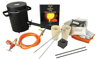 Gold Refining Smelting Propane Furnace Kit Gold Ore Concentrates Melting Set