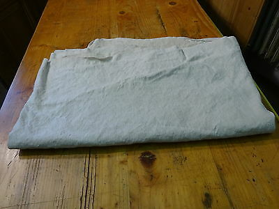 Antique European Linen, Hemp,Flax Homespun Linen Sheet 80'' x 53'' #7537