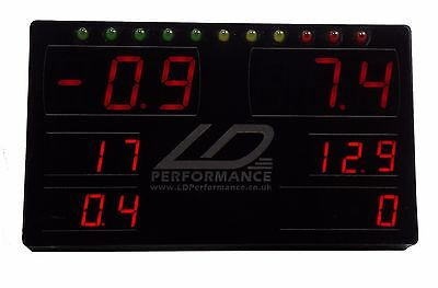 LDperformance Racing Dash Multi gauge display works w/ Megasquirt or DTAfast ECU