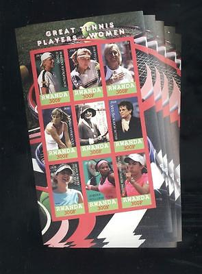 (932465) 5x Tennis, Small lot, Private / local issue