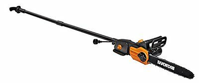 WORX WG309 2-in-1 Multifunctional Electric Pole Saw and Chainsaw, 10-Inch - NEW