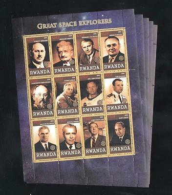 (932480) 5x Space, Famous Persons, Explorers, Gagarin, Private / local issue