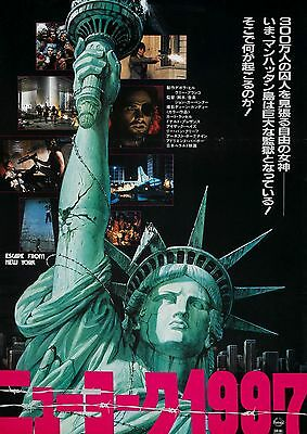 Escape from New York Movie POSTER (1981) Fantasy