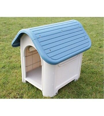 Plastic Dog Kennel Winter Warm House Weather Proof Shelter Indoor/Outdoor