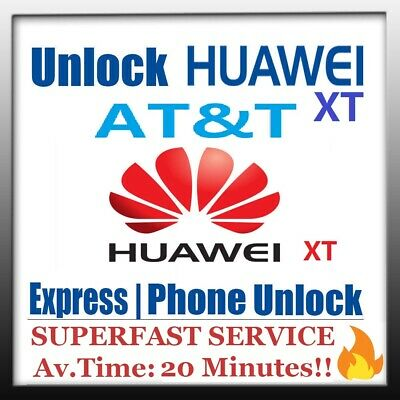 FACTORY UNLOCK CODE SERVICE AT&T GoPhone CRICKET HUAWEI ASCEND XT H1611 MATE USA