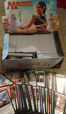 ~ Magic the Gathering - MTG Booster Box of 750+ Kaladesh Common Cards Only