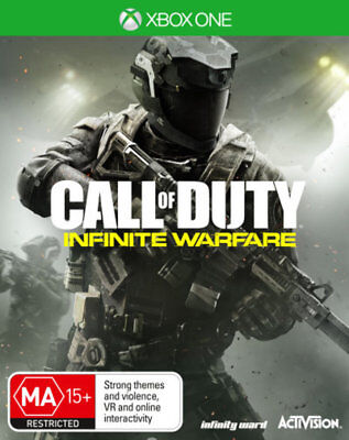 Call of Duty COD Infinite Warfare with Bonus DLC Xbox One Game NEW