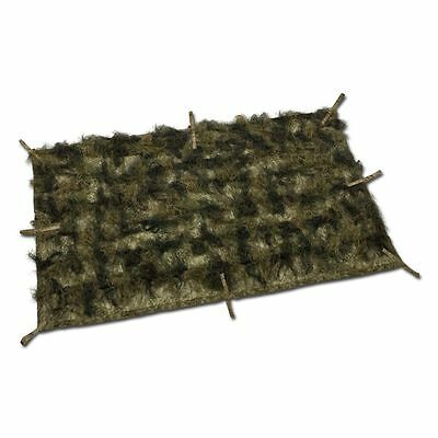 Couverture-camouflage Ghillie MFH woodland 350 x 150 cm