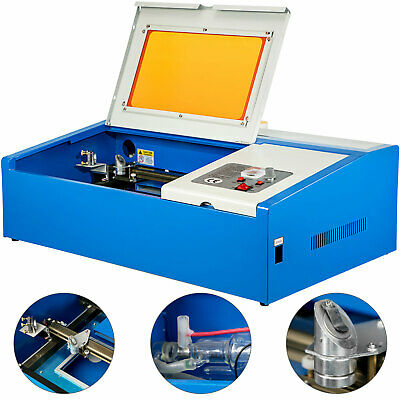 40W CO2 Laser Engraving Cutting Engraver Cutter Machine 12x8in Movable