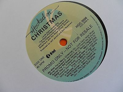 "Louis Clark The Royal Philharmonic Orchestra Hooked On Christmas Promo 7"" Vinyl"