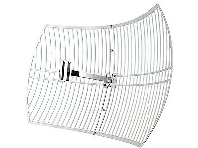 TP-Link 2.4GHz 24dBi Directional Grid Parabolic Antenna, N Female Connector,