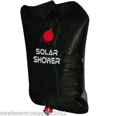 Camping 20 Litre Solar Shower Heated Portable Outdoor Hygiene Festival Hiking