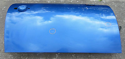 Genuine Used MINI O/S Drivers Side Door (Lightening Blue) for R56 R55 R57 #1