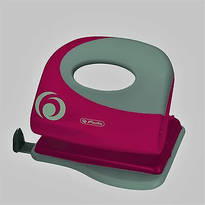 Herlitz Locher Bürolocher Ergonomie Color Blocking Active Pink/minze