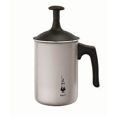 Bialetti 3 Cup Tuttocrema Aluminium Milk Frother with lid