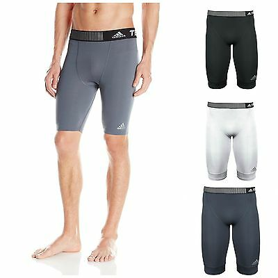"adidas Men's Techfit CLIMALITE 9"" Compression Shorts Athletic Amour Underwear"