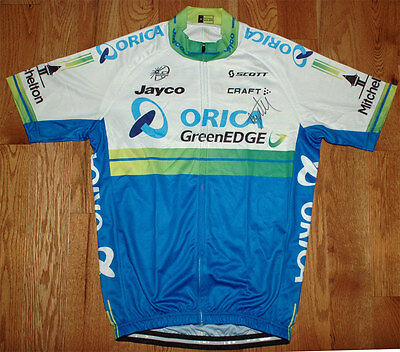 Adam Yates - Autographed - Signed Orica Cycling Jersey - Tour de France Proof