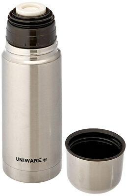 Uniware Vacuum Stainless Steel Bottle Thermos, Silver, 350 Ml