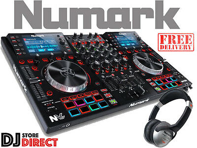 NUMARK NVII - NV2 Dual Display 4 Channel DJ Controller Serato - FREE HEADPHONES