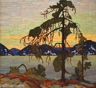 """The Group of Seven Tom Thomson Oil Painting repro The Jack Pine 24""""x24"""""""