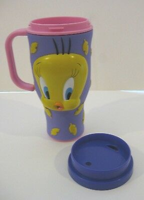 Applause Inc., 1998 Warner Bros., Looney Tunes Tweety Bird Travel Mug