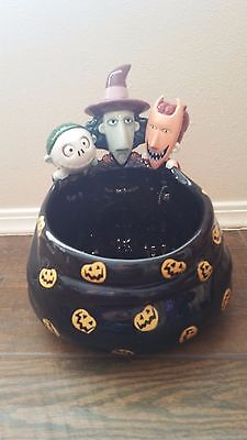 Nightmare Before Christmas Trick or Treaters Candy Bowl Dish Disney Touchstone