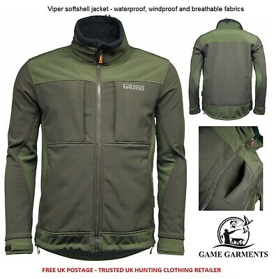 Game Viper Soft Shell Waterproof Hunting Jacket. Shooting / Fishing / Outdoor