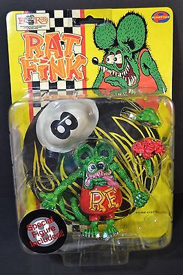 """Rare Rat Fink Action Figure Ed """"Big Daddy"""" Roth Planet Toys 1998 Japan Imports"""