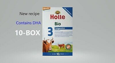 10 boxes  Holle Organic Stage 3 Baby Infant Formula -German version