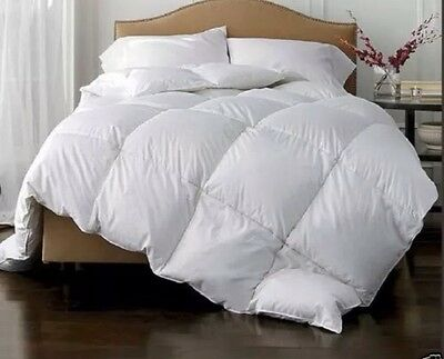 Double Bed *WINTER*15TOG*LUXURIOUS*85% White Goose Feather 15% Down Duvet