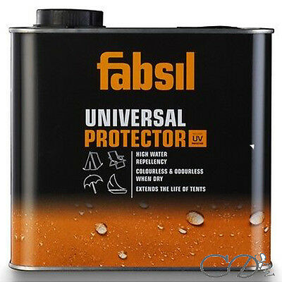 Fabsil 2.5 litre Waterproof Waterproofing UV Protection Tent/Awning Proofer