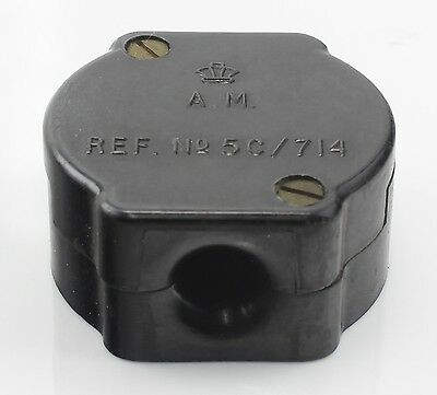 Junction Box Connection 5C/714 RAF Air Ministry Vintage Aircraft Spare Bakelite